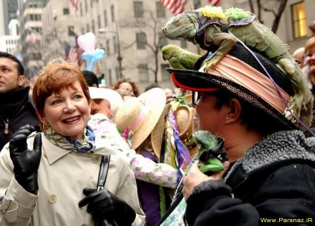 عکسهای خنده دارترین و عجیب ترین کلاههای  دنیا