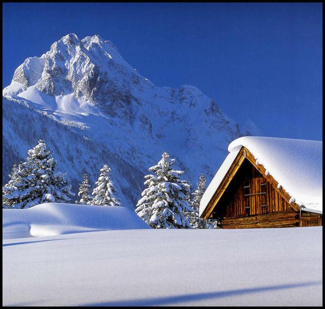 عکسهایی از طبیعت و مناظر زمستانی اروپا