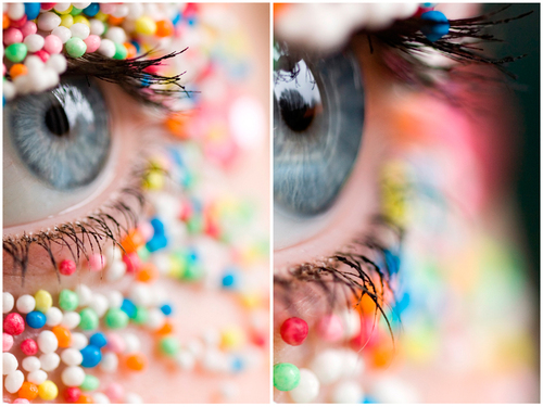 عکس هایی از مدل آرایش فانتزی چشم