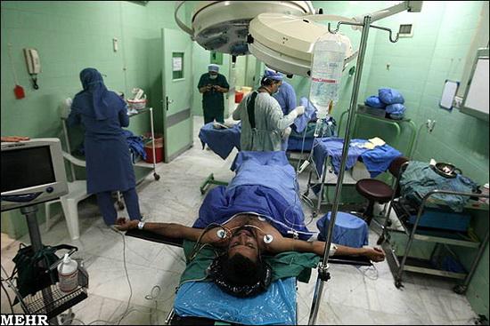 عکس هایی از پیوند اعضای بدن انسان در ایران (18+)