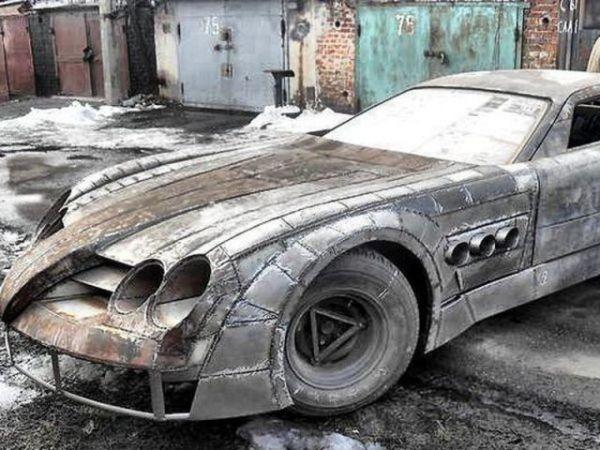 عکس های جالب از یک ماشین مرسدس بنز