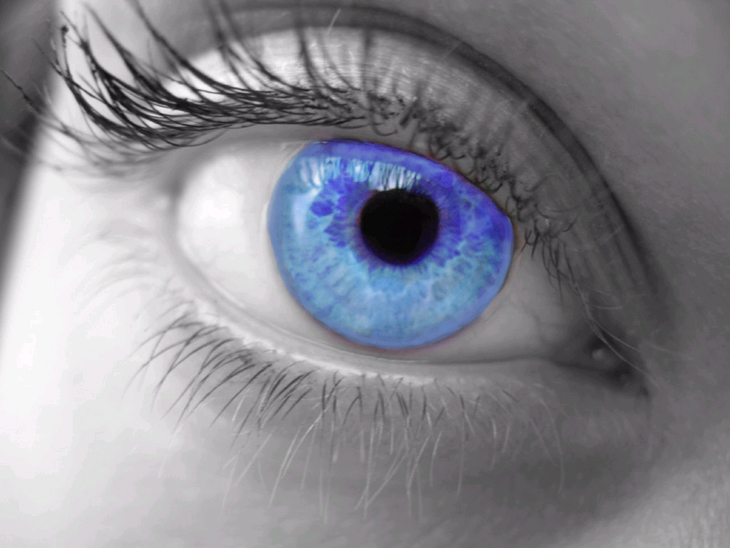 عکس چشم سبز زیبا