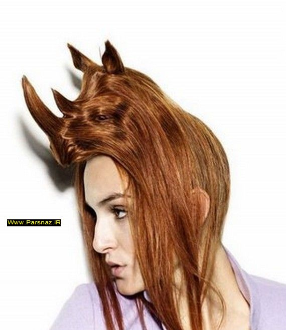 عجیب ترین مدل موهای زنان جهان