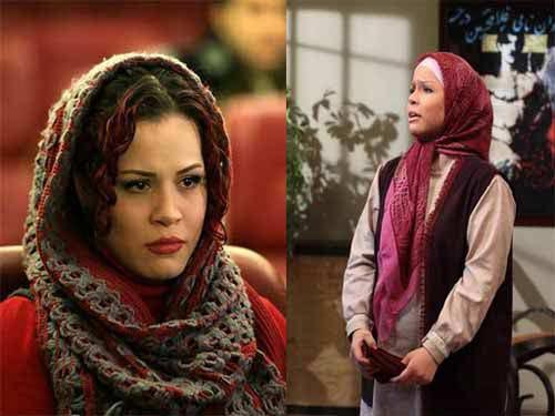 عکسهای چهره بازیگران زن در جلو و پشت دوربین