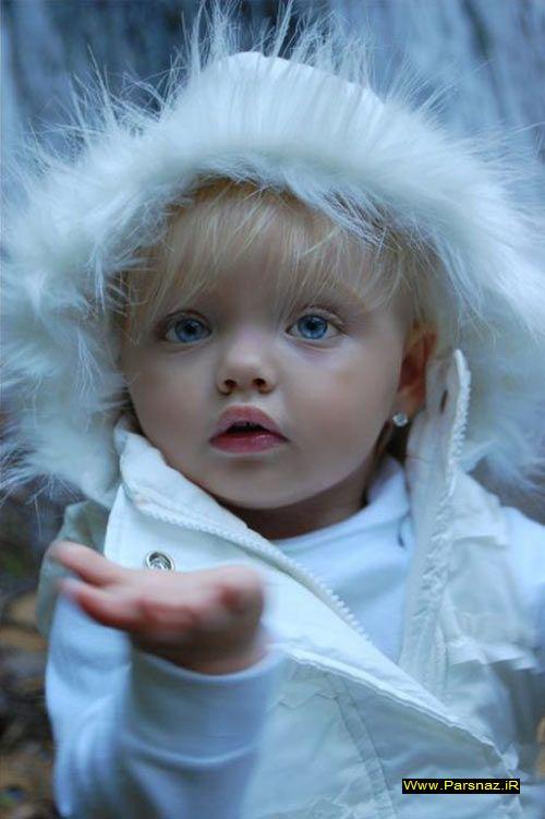 عکس هایی از یک فرشته کوچولوی زیبا