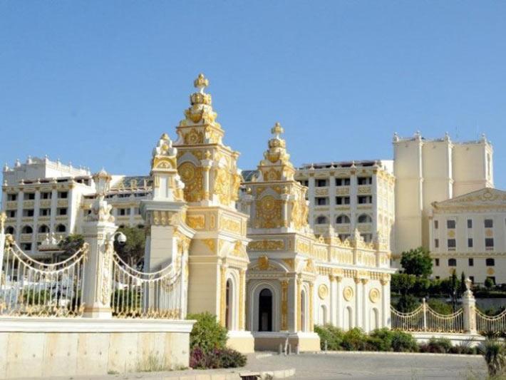 هتل بسیار زیبای قصر مردان در آنتالیا