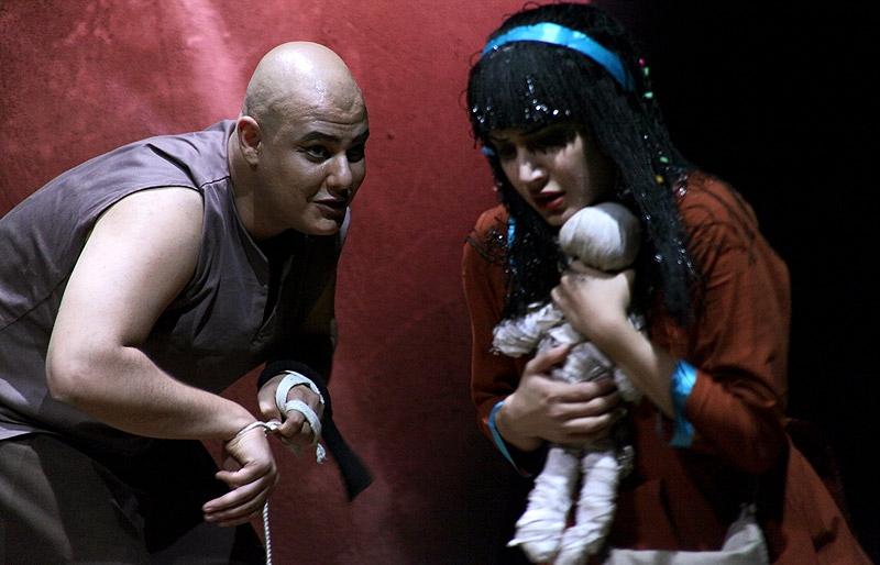 عکسهای شبنم قلی خانی در نمایش کا