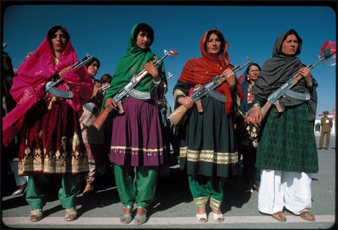 عکسهایی از دختران کماندو در کشورهای مختلف