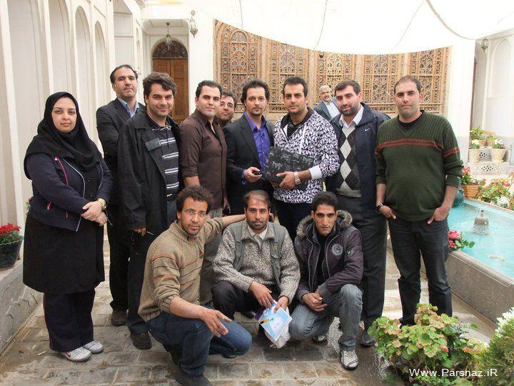 عکسهای محمد سلوکی با بازیگران مختلف