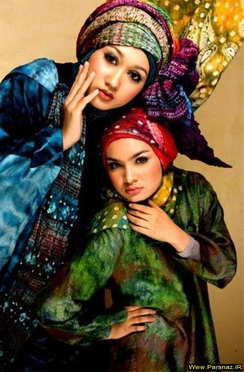 عکسهایی از مانکن های اسلامی در کشورهای مختلف
