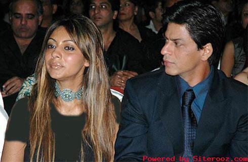 عکسی از شاهرخ خان و همسرش