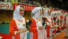 مسابقه تیم والیبال بانوان هنرمندان وتیم ملی والیبال بانوان