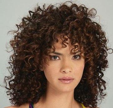 عکس هایی از مدل موهای فر از شخصیت های معروف