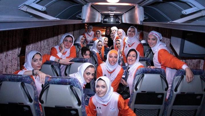 عکسهای جدید بازیکنان والیبال تیم زنان بازیگر