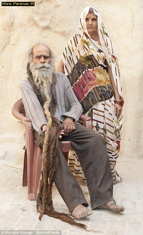 كثیف ترین مرد جهان + عکس