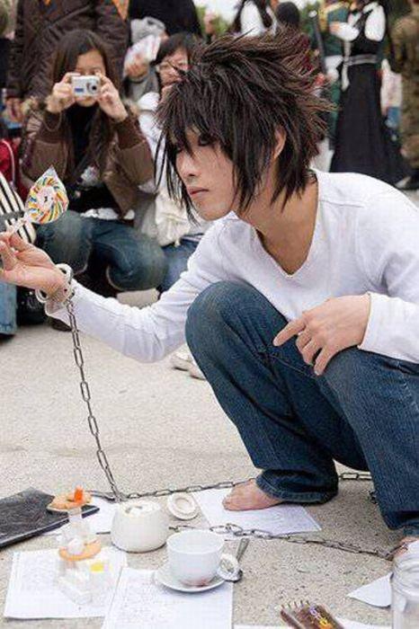 عکس های از مدل موهای عجیب مردان ژاپنی