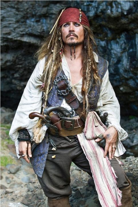 عکس هایی جالب از فیلم دزدان دریایی کارایپ ۴