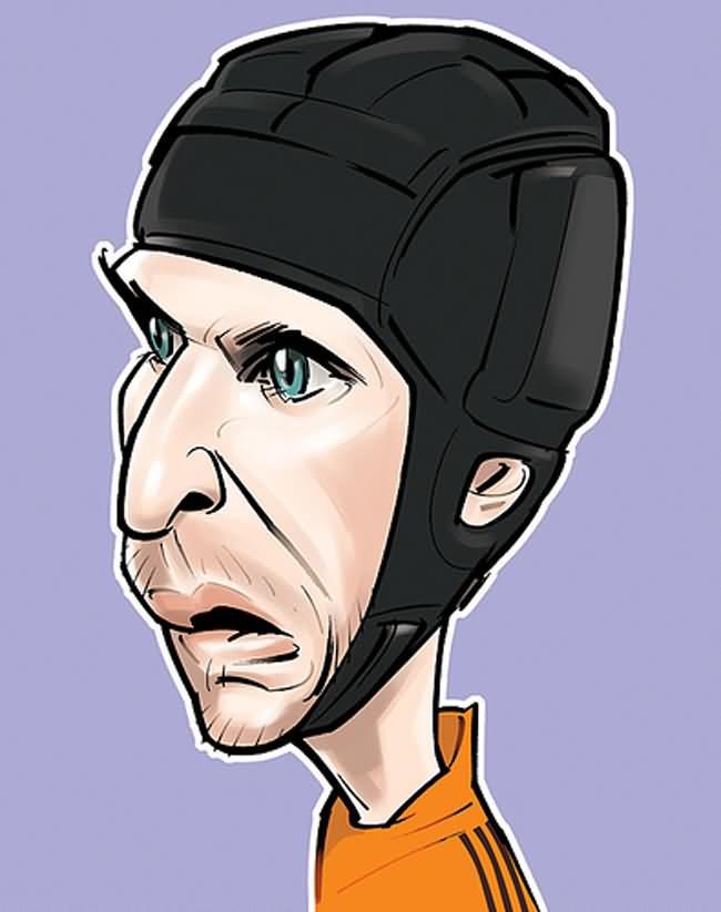 تصاویر جالب کارتونی از فوتبالیست های مشهور