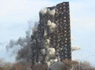 تصاویری از تخریب های بزرگ ساختمانها