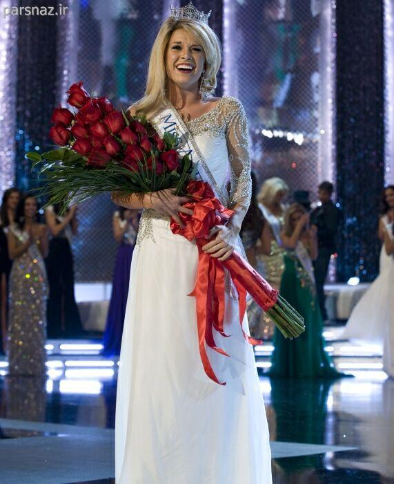 زیباترین دختر امریکا در سال 2011 انتخاب شد + تصویر