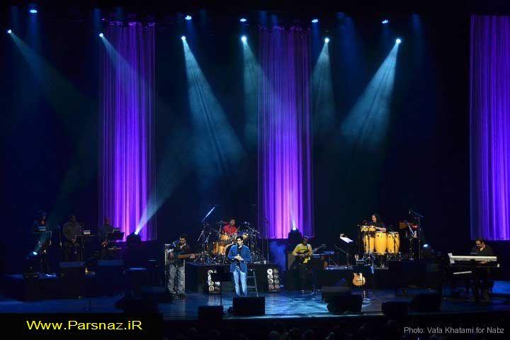 سن فتانه خواننده لس آنجلس اجرای کنسرت احسان خواجه امیری در لس آنجلس +عکس
