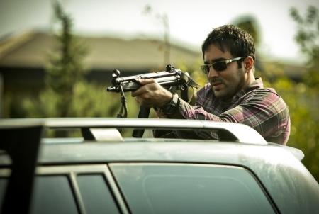 حامد بهداد پوریا پورسرخ و الهام حمیدی در یک سریال پلیسی