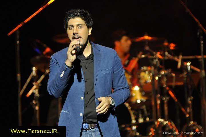اجرای کنسرت احسان خواجه امیری در لس آنجلس +عکس