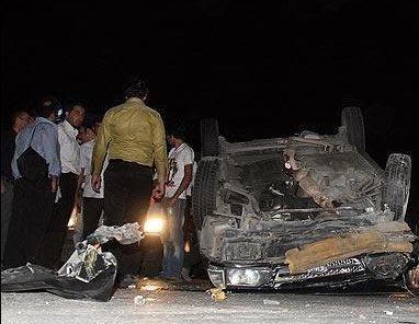 جنون سرعت در خیابان اشرفی اصفهانی حادثه آفرید +تصویر