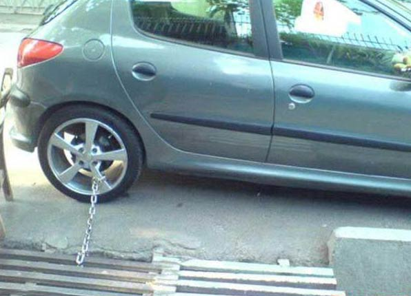 جدیدترین مدل دزدگیر ماشین + آخره خنده