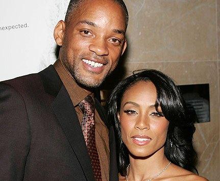 عکس ویل اسمیت و همسرش