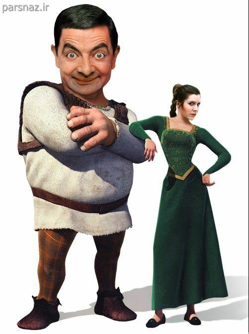 www.parsnaz.ir - عکس های بسیار خنده دار از شخصیت های معروف جهان