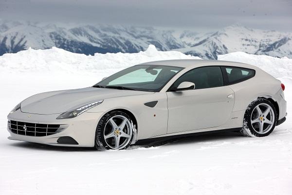 جدیدترین ماشین فراری FF سیلور 2012
