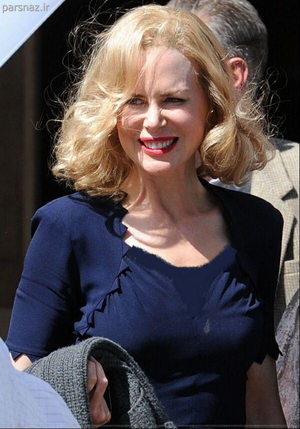 عکس های جدید از بازیگر زن معروف هالیوودی Nicole Kidman