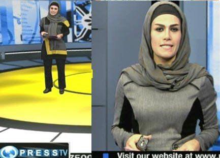 حجاب متفاوت مجریان پرس.تی.وی +تصویر