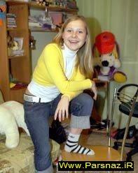 www.parsnaz.ir - دختری 23 ساله با چشمانی عجیب و جادویی + تصویر