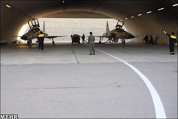 گزارش تصویری از مانور نیروی هوایی در تبریز