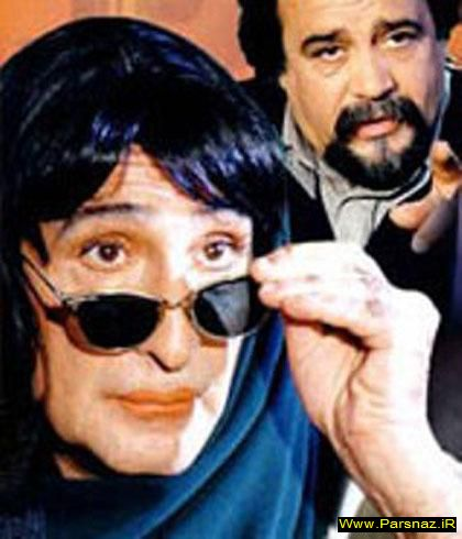 www.parsnaz.ir - عکسهای جالب از مردان زن نما در سینمای ایران