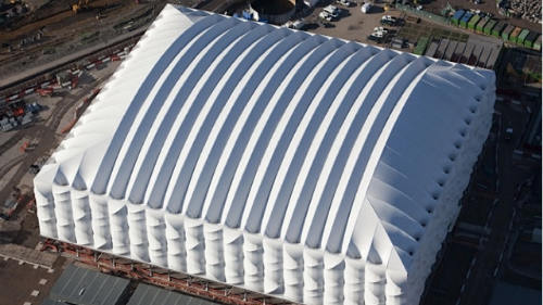 www.parsnaz.ir - استادیومی قابل جابه جایی در انگلیس +عکس