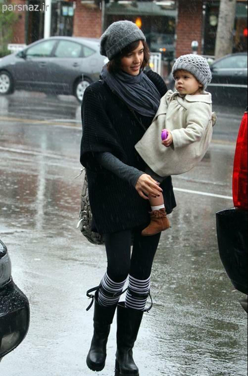 جدیدترین عکسهای جسیکا البا بازیگر زن خارجی و دخترش