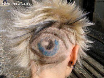 عجیب ترین مدل موهای دنیا