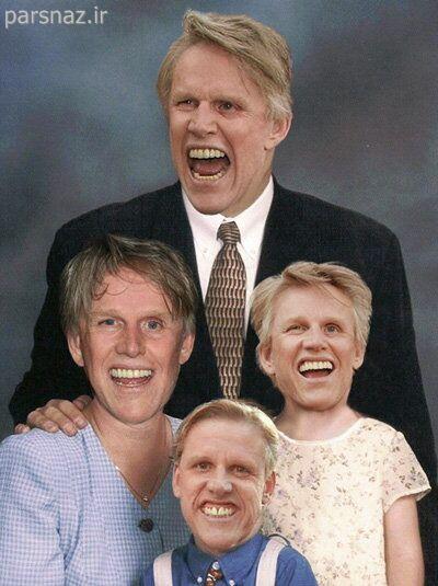 عکس های فتوشاپ شده خنده دار از افراد معروف جهان