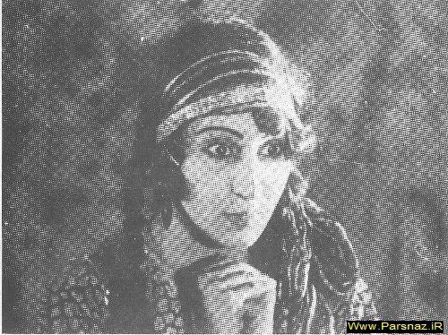 اولین بازیگر زن سینمای ایران و فیلم دختر لر +تصویر