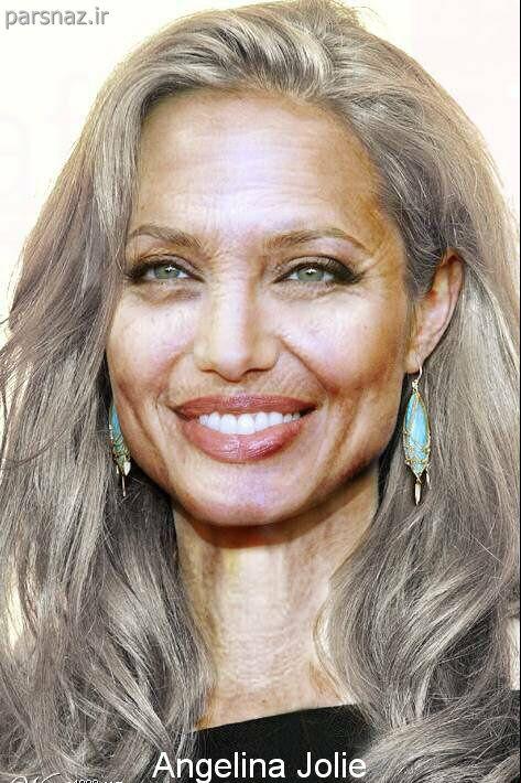 www.parsnaz.ir - عکس هایی از بازیگران معروف هالیوود در سال 2040