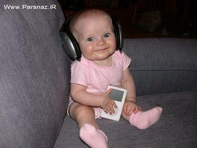 عکس های جالب و خنده دار از نوزادان