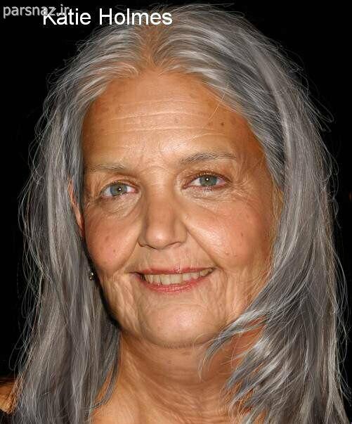 عکس هایی از بازیگران معروف هالیوود در سال 2040