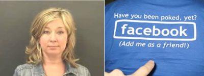 عجیب ترین جرائم مردان و زنان در فیس بوک + تصویر