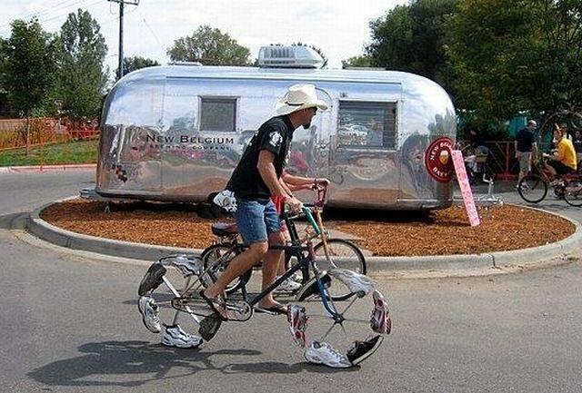 عجیب ترین دوچرخه های جهان + عکس