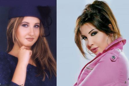 عکس های تغییر چهره ی نانسی عجرم از کودکی تا جوانی
