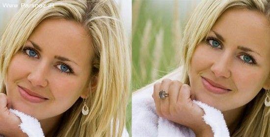 عکس های دختران جذاب قبل و بعد دستکاری صورت