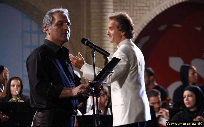 آواز خوانی مریلا زارعی و مهران مدیری در یک جشن +عکس